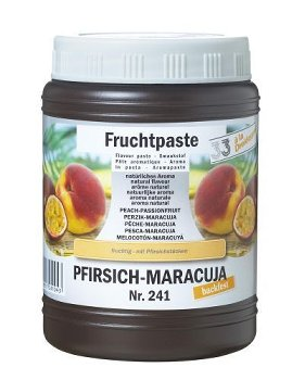 Pfirsich-Maracuja Konditoreipaste