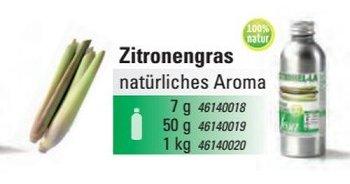Zitronengras Aroma natürlich 'Essenz' (50g)