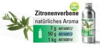 @ Zitronenstrauch / Zitronenverbene Aroma natürlich (50g)