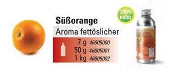 @ Süße Orange Aroma natürlich (50g)