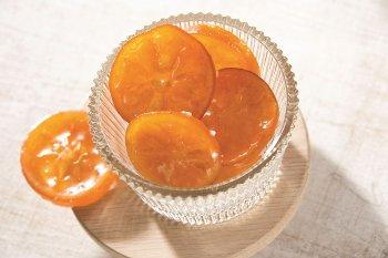 Mandarinen-Scheiben kandiert & glasiert