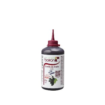 TK-Cassis Fruchtsauce in Coulis Flasche
