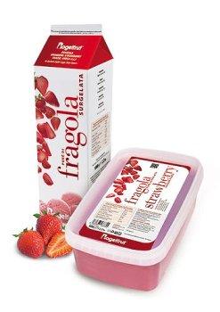 TK-Erdbeer Püree 10% Zucker