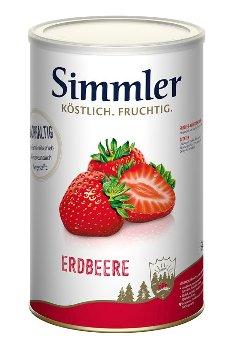 Erdbeer-Konfitüre extra mit Stücken