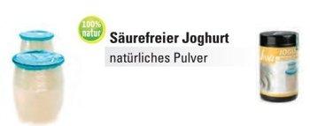 @ Joghurt Pulver 'Acid free' ohne Säure
