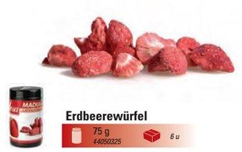 @ Erdbeer-Würfel (60g)