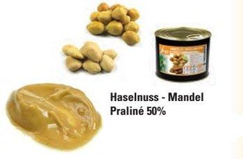 @ Pralinen-Masse Haselnuss-Mandel 50%