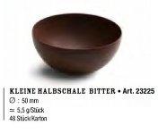 Dessert-Schalen Halbkugel bitter klein (48 Stk)
