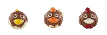 @ Schokoladen-Hühnerfamilie 'Piou Piou' milch (45g)
