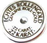Blattgold-Ersatzrolle 3mm/21m