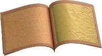 Blattgold-Blättchen (25 Blatt)