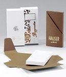 Tafelverpackung für 100g Tafel braun (100Stk)