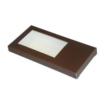 Tafelschokoladen-Verpackung schokobraun (2x25)