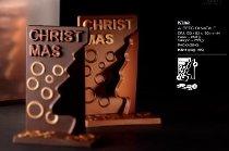 @ Gießform Weihnachtsbaum 'Albero di Natale' (12 Teile für 4Stk)