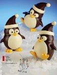 @ Gießform Pinguine mit Füßen (8 Teile für 2Stk)