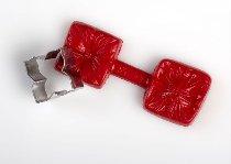Silikon-Stempel rot für Hortensienblüten+ Ausstecher
