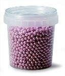 @ Dekor-Zuckerperlen klein rosa-metallic (120g)
