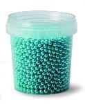 @ Dekor-Zuckerperlen klein blau-metallic (120g)