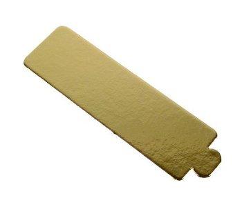 Patisserie-Unterlagen Rechteck gold (200Stk)