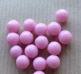 @ Zucker-Kugeln 'Rosen-Perlen', pink-rot dragiert