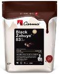 @ Couverture Black Zabuye 83% bitter, Drops 'schwarz'