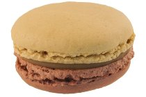 @ TK-Macarons Karamell-Tonkabohne 4,5cm / 20g (32 Stk/Pck - 12 Pck/Ukt)