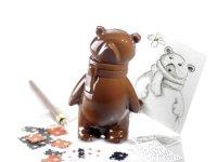 @ Gießform für Eisbär mit Schal (10 Formen für 5 Stk)