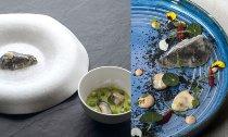 Silikon-Matte/-Form 10 Austern 'Oyster' (30x20cm)