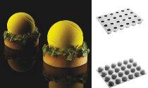 @ Silikon-Matte 20 Tennisbälle klein 'Battura D'Inizio' Mono (30x40cm)