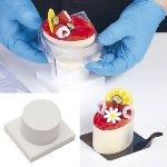 @ Patisserie-  Dessert-Form Auswerfer Rund Mono 67/40
