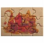 @ Gießform-Blister für Puzzle 'Gourmandises' (10 Stk)