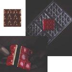 Gießform für Tafel 50g Design 'Mini Bricks' quadratisch