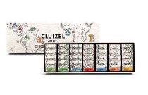 Coffret-Schachtel 28 Plantagen Schokoladen-Carrés (Minitafeln) (140g)