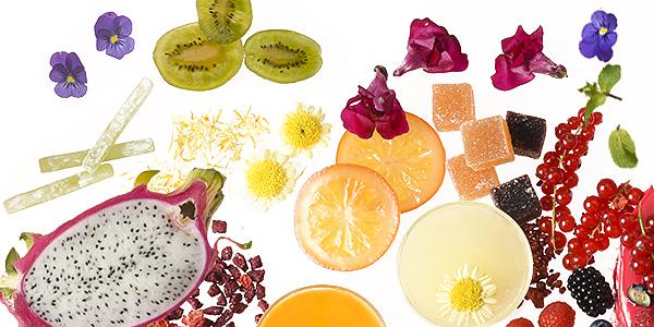 Früchte | Blätter | Blüten kandiert | glasiert | kristallisiert
