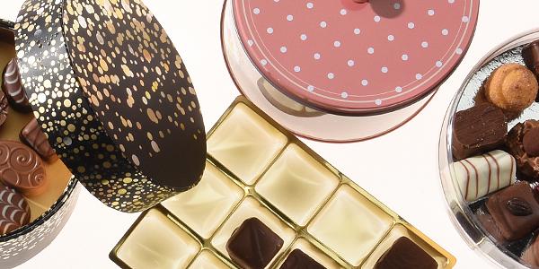 Verpackungen für Pralinen | Schokolade | Kleingebäck | Macarons